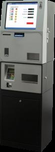 Maquina de cobro automático T-Cobro maxi, expendedora de tickets