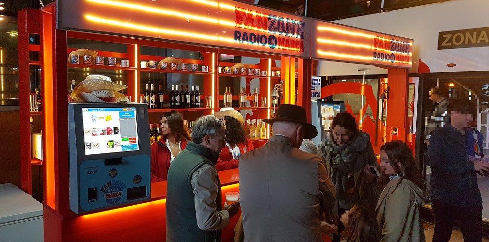 Fanzone Radio Marca & Sistemas de T-Cobro